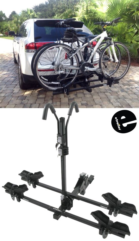 Thule Doubletrack Platform Style 2 Bike Rack For 1 1 4 And 2 Hitches Hitch Mount Thule Hitch Bik Soportes Para Bicicletas Portabicicletas Bicicletas