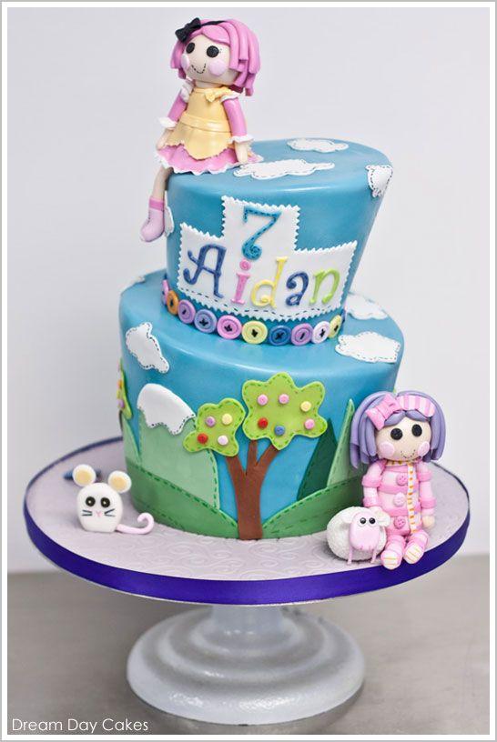 Lalaloopsy Birthday Cake by Dream Day Cakes  |  TheCakeBlog.com