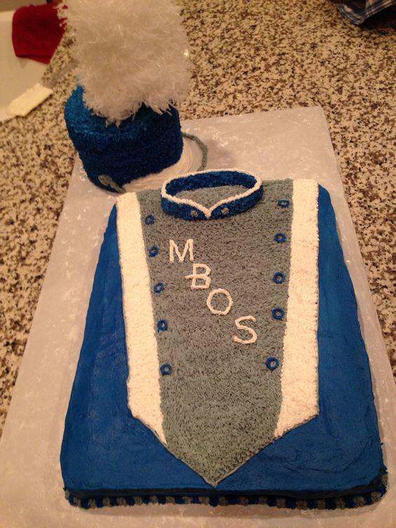 Marching band cake