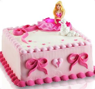 Baskin-Robbins | Barbie Fashion Pink Cake: Piggy Cake, Pink Cakes, Birthday Idea, Cakes 4Every, Baby Girls, Barbie Sheet Cake, Barbie Fashion, Birthday Cakes