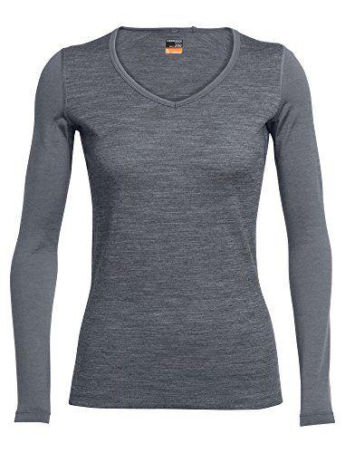 Berghaus Womens Active Baselayer V Neck T-Shirt