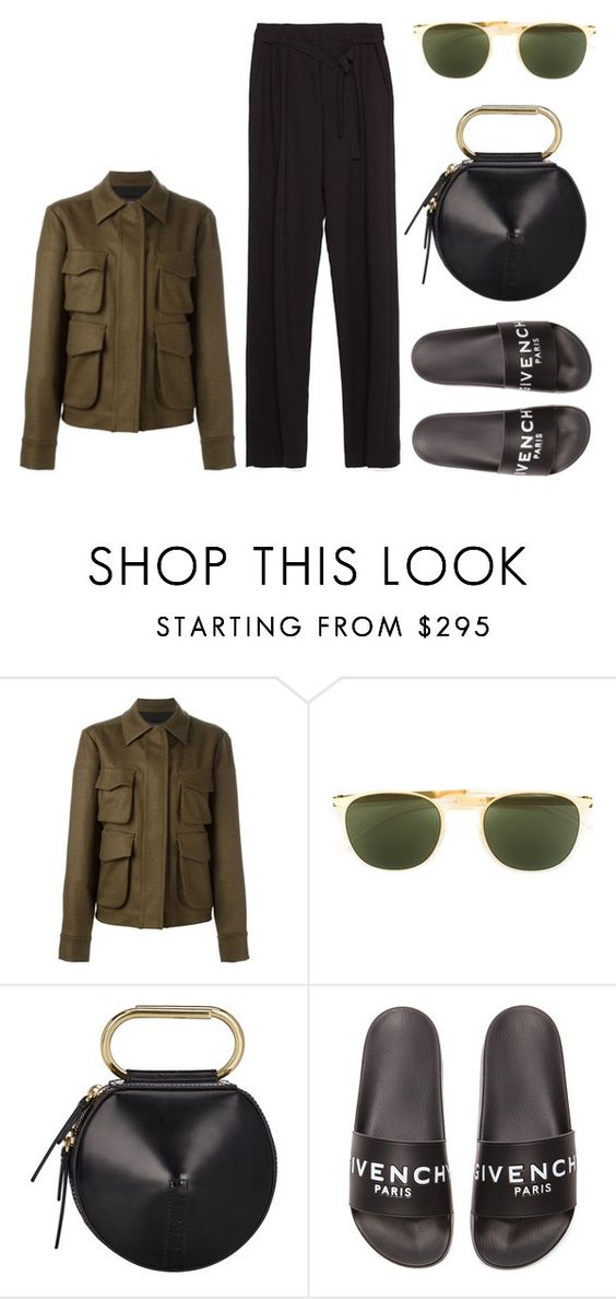 """""""Untitled #3794"""" by michelanna ❤ liked on Polyvore featuring Odeeh, Mykita, 3.1 Phillip Lim, Givenchy and Zara"""