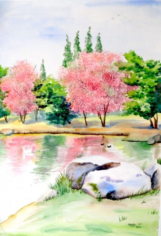 The talk the beauty and watercolors on pinterest for How to watercolor for beginners