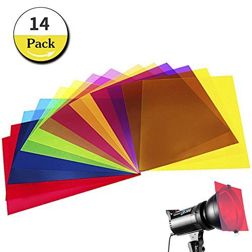 14 Pack Colored Overlays Transparency Color Film Plastic Sheets Correction Gel Light Filter Sheet 8 5 By 11 Inc Plastic Sheets Light Filters Subtractive Color