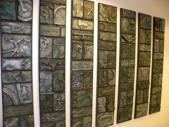 Misson schools ceramic wall murals mur l ideas for Ceramic wall mural