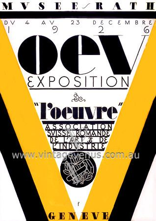 Exhibition Poster  1926