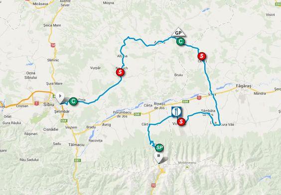 tur turistic de vazut de pe bicicleta si care se afla aproape de Sibiu