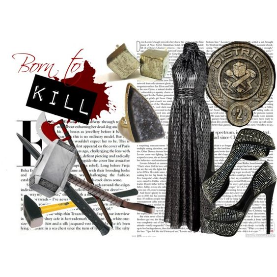 District 2: Masonry by headprankster on Polyvore featuring Halston Heritage, Bakers and Marvel Comics