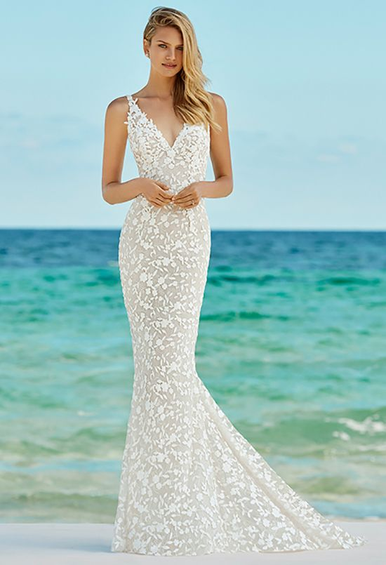 2019 Glam Beach Wedding Dresses Wedding Dresses Dream Wedding