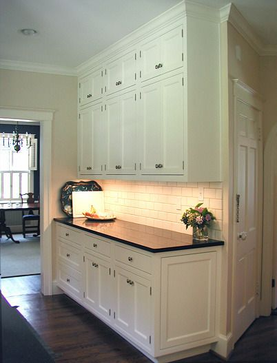 Upper Kitchen Cabinets. Image Of Open Area Above Kitchen Cabinets ...