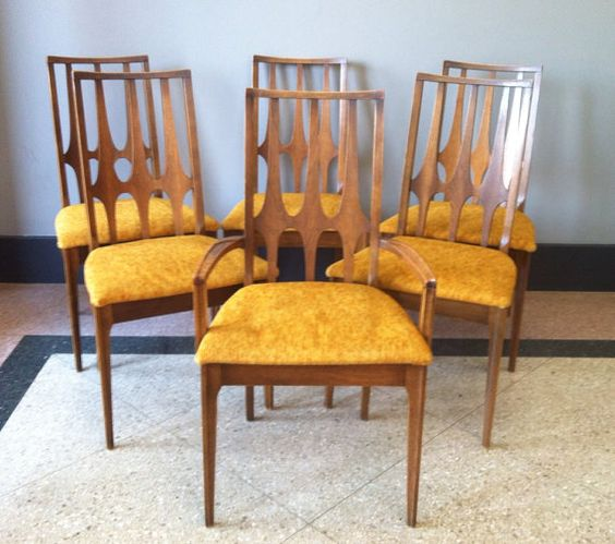 Broyhill Brasilia Dining Chairs Set Of 6 By Twoguysvintage On Etsy