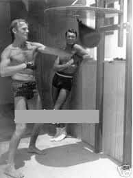 Randolph and Cary Grant