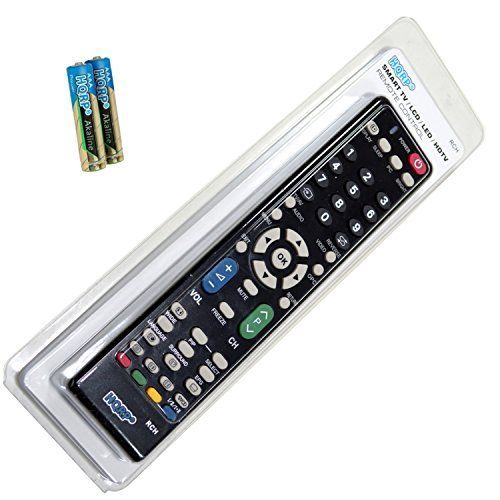 HQRP Remote Control for Sharp LC32BX5M LC32BX6M LCD LED HD TV Smart 1080p 3D Ultra 4K AQUOS  HQRP Coaster *** Check out this great product.