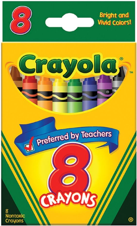 Crayola 8 Ct Crayons ** Instant Savings available here : FREE Toys ...