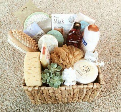 19 Trendy Basket Gift Diy Bridal Shower Diy Bridal Shower Gifts Bridal Shower Gift Baskets Bath Gift Basket
