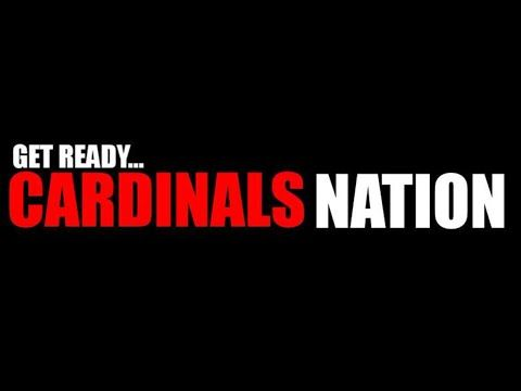 """Cardinals Nation"" (lyric video) - Jay Tighe *Share Cardinals Nation!"