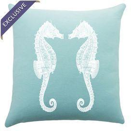 Seahorses Pillow