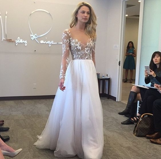 Hayley Paige Remington gown has to be one of my favorite dresses of all time