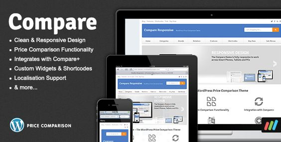Compare - Price Comparison Theme for WordPress Price comparison - product comparison template word