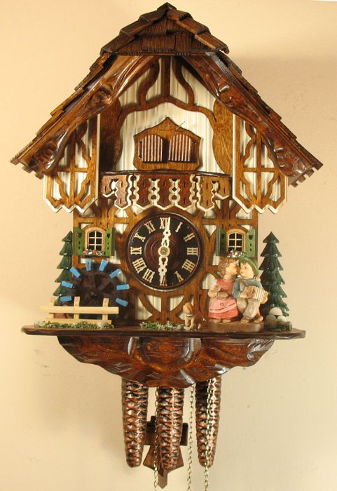 The birds plays and we on pinterest - Cuckoo bird clock sound ...
