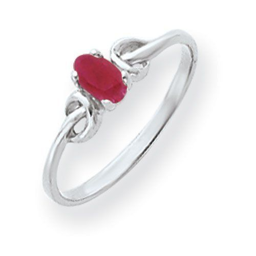 14k Gold White Gold 5x3mm Oval Ruby ring Real Goldia Designer Perfect Jewelry Gift goldia. $137.18