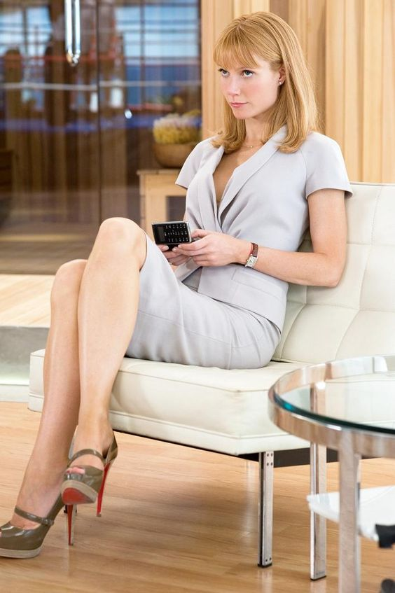 Gweneth Paltrow as Pepper Potts in 'Iron Man'
