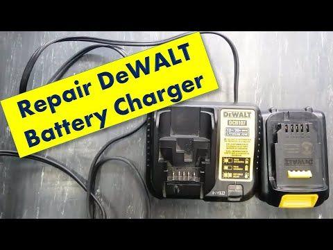 268 How To Repair Battery Charger Dewalt 12v 20v Battery Dcb107 Youtube In 2021 Charger Battery Charger Battery