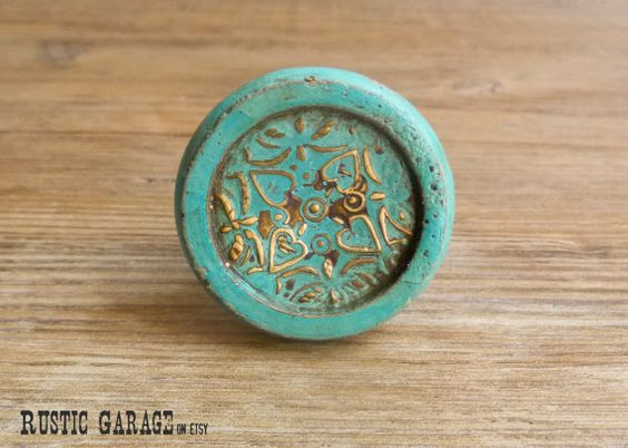 Pinterest the world s catalog of ideas for Turquoise door knobs