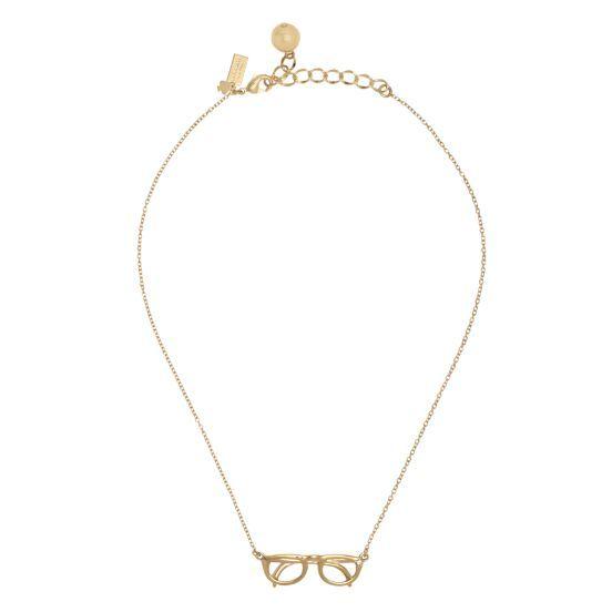 Hang in there mini glasses pendant -- cute!
