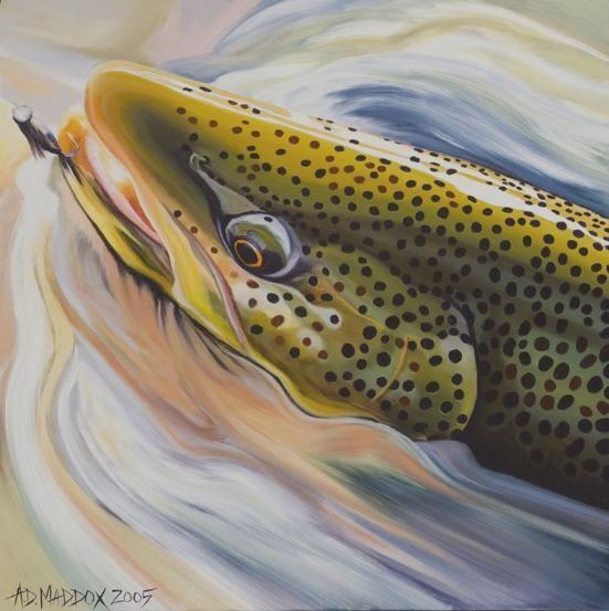 New Fork Bedhead II- AD Maddox  #flyfishing