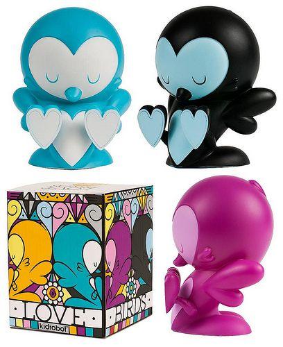 Kidrobot Lovebirds