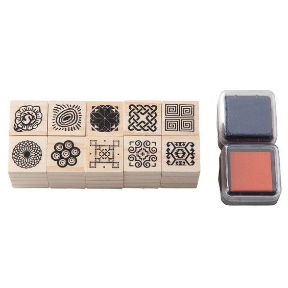 Pattern Stamp Set