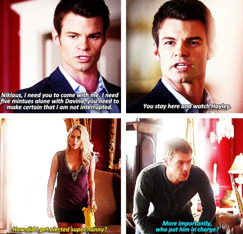 LOVE Elijah in 'take charge and kick ass' mode!   The Originals