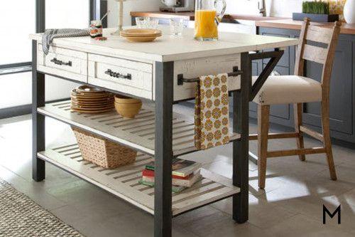 Breakfast Bar Kitchen Prep Table Kitchen Design Kitchen