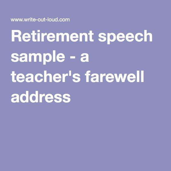 Best  Retirement Speech Ideas On   Retirement Poems