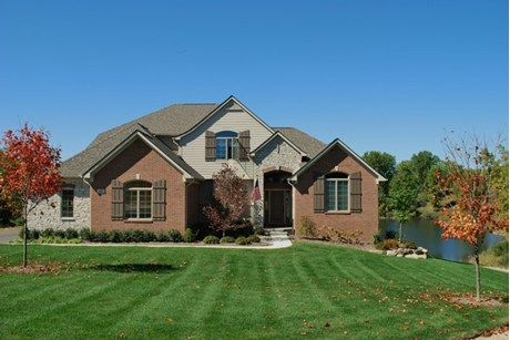 Brick And Stone Accent A New Home With Timeless Style