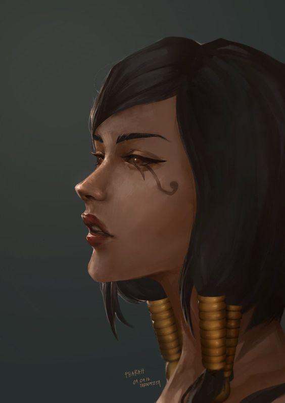 Pharah by tarnmeta.deviantart.com on @DeviantArt - More at https://pinterest.com/supergirlsart/ #portrait #overwatch #fanart