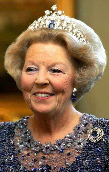 THE TIARA  H.M. Queen Beatrix I of The Netherlands