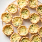 Mini cheese quiches from Saving Room for Dessert
