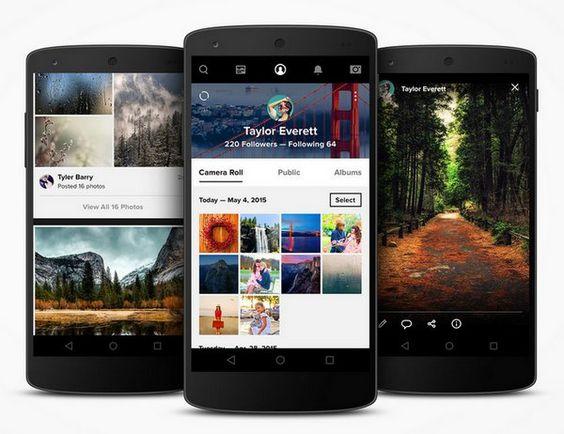 Flickr actualiza sus apps móviles introduciendo novedades importantes, inclusive compartir en Instagram