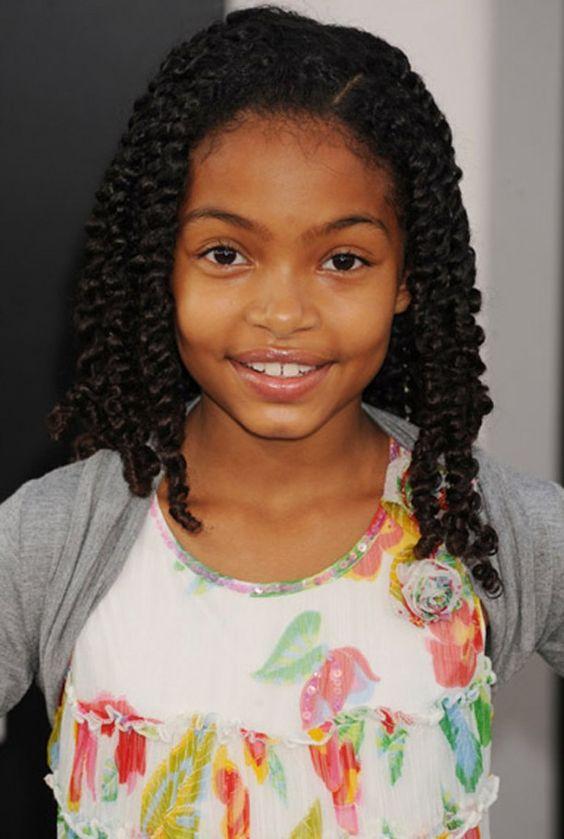 Outstanding Black Girls Hairstyles Hairstyles And Children On Pinterest Short Hairstyles For Black Women Fulllsitofus