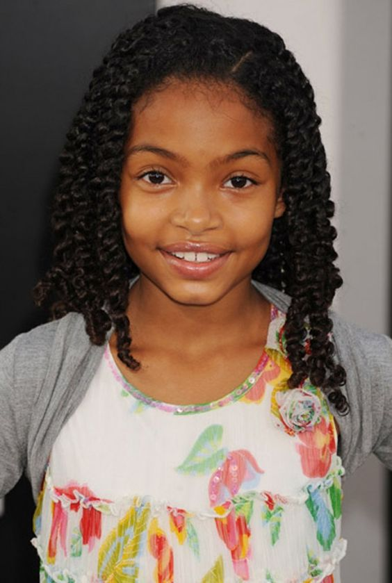 Admirable Black Girls Hairstyles Hairstyles And Children On Pinterest Hairstyles For Women Draintrainus