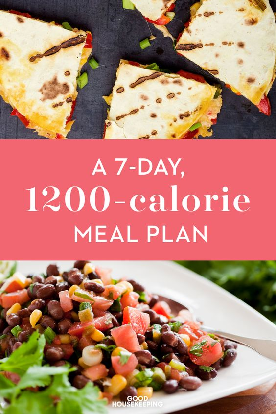 This 7-day 1200 Calorie per day meal plan provides you with easy, healthy recipes for fast weight loss. You'll find recipes for breakfast, lunch and dinner.