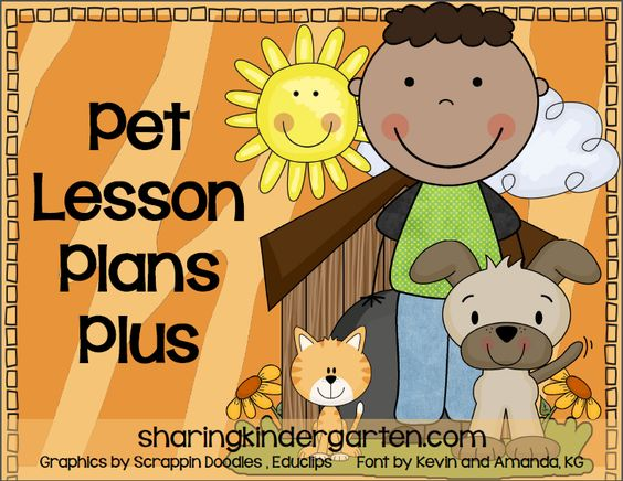 Sharing Kindergarten: Grab this unit for some Pet loving fun and ...