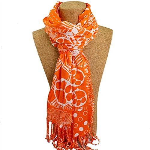 Clemson Tigers Mixed Print Scarf Sports Team Accessories…