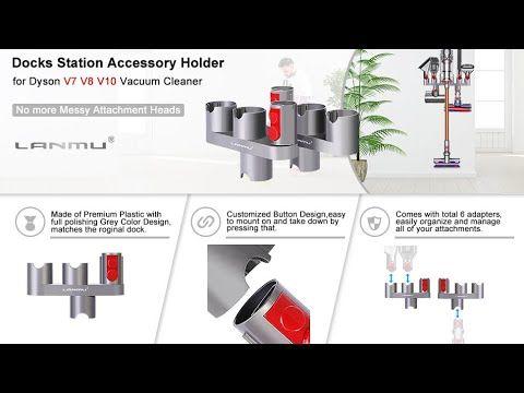 Lanmu Docks Station Accessory Holder For Dyson V10 V8 V7 Accessories Holder Docking Station Dyson