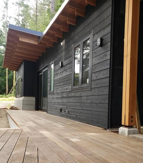 Knotty Western Red Cedar Channel Siding In 2020 House In The Woods Wood Siding House Red Cedar Wood