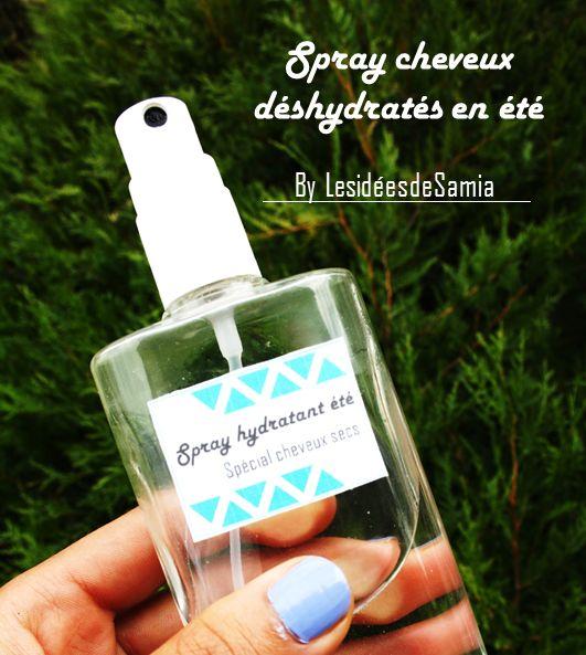 Les idées de Samia | Blog écologique: {Spray hydratant} Hydrater ses cheveux en un pchiiit !