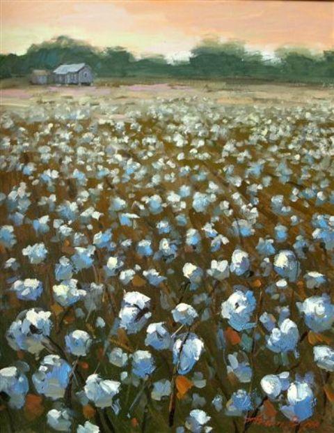 Arden Boyce: Cotton Fields | Art Appreciation | Pinterest ...