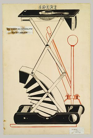 An artist that uses Francis Picabia's technique?